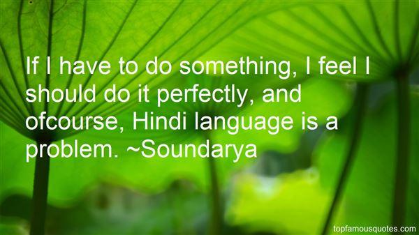 Soundarya Quotes