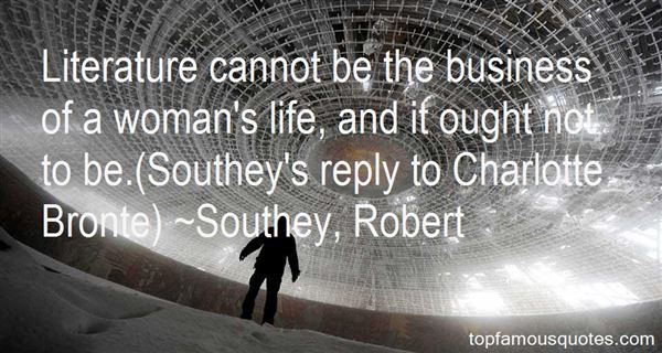 Southey, Robert Quotes