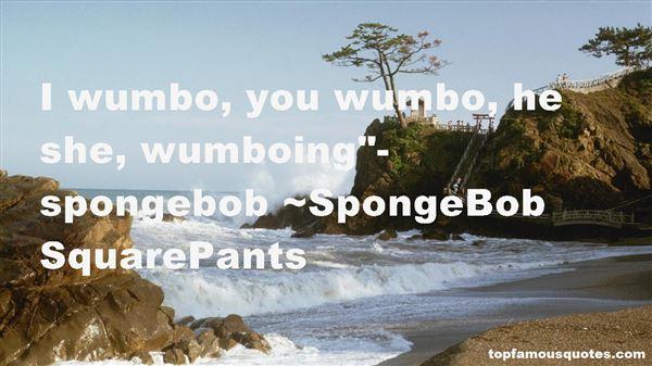 SpongeBob SquarePants Quotes
