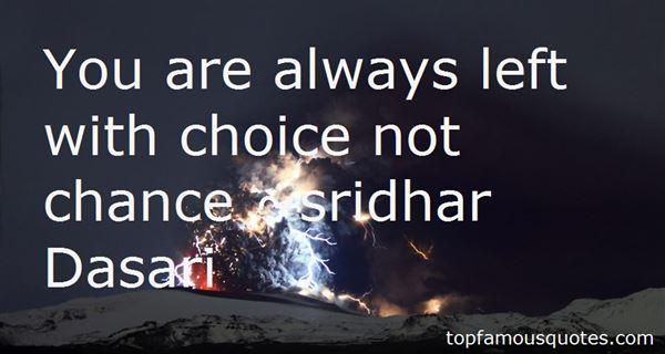 Sridhar Dasari Quotes