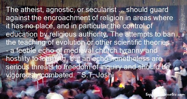 S.T. Joshi Quotes