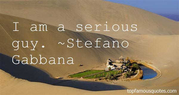 Stefano Gabbana Quotes