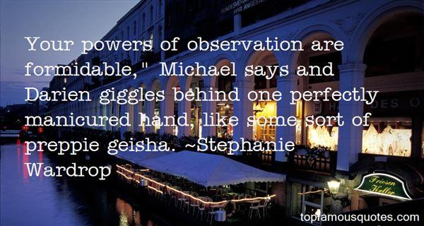 Stephanie Wardrop Quotes
