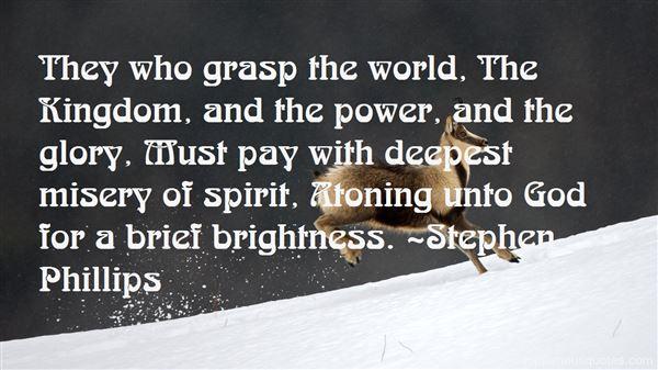 Stephen Phillips Quotes