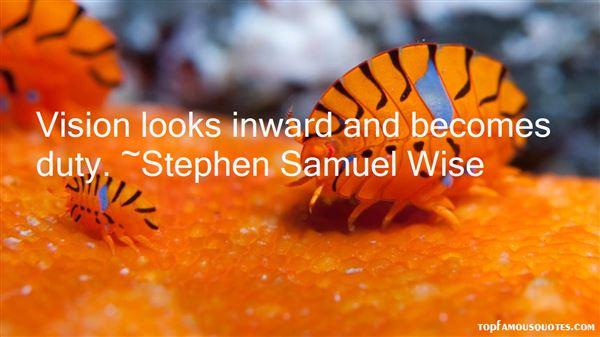 Stephen Samuel Wise Quotes