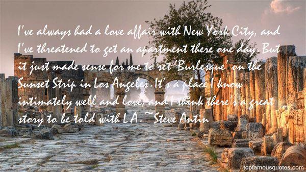 Steve Antin Quotes