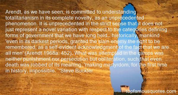 Steve Buckler Quotes