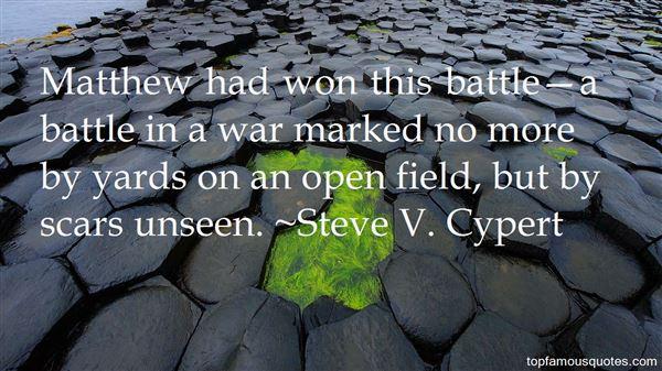 Steve V. Cypert Quotes