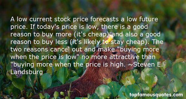 Steven E. Landsburg Quotes