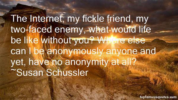 Susan Schussler Quotes