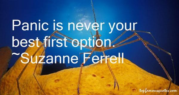 Suzanne Ferrell Quotes
