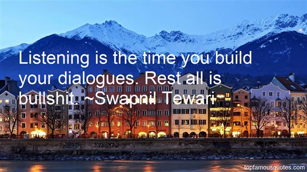 Swapnil Tewari Quotes