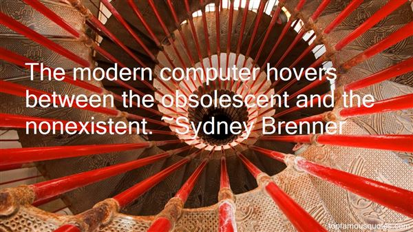 Sydney Brenner Quotes