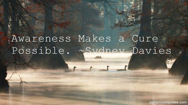 Sydney Davies Quotes