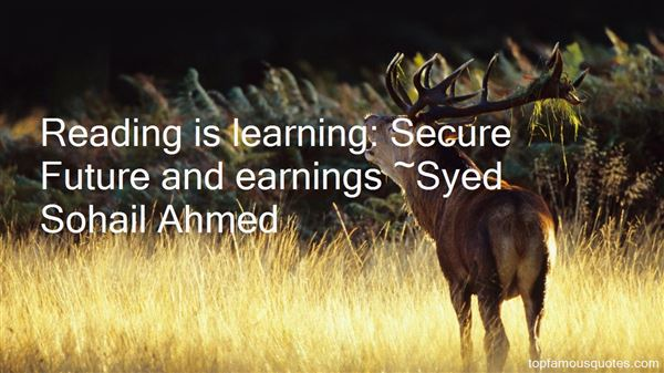 Syed Sohail Ahmed Quotes