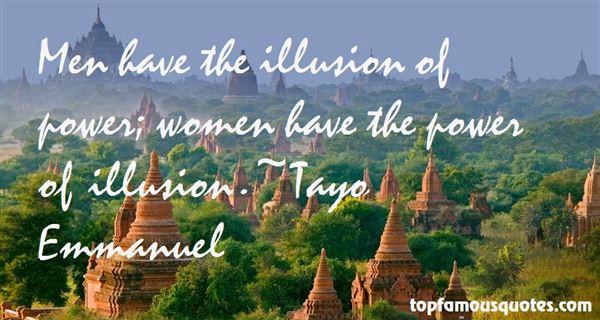 Tayo Emmanuel Quotes