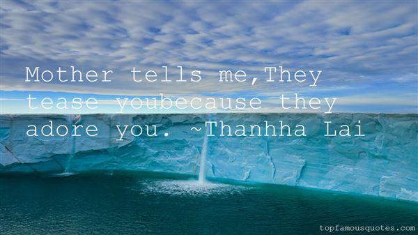 Thanhha Lai Quotes