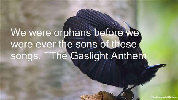 The Gaslight Anthem Quotes