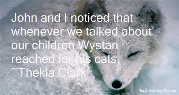 Thekla Clark Quotes