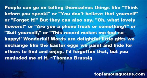 Thomas Brussig Quotes