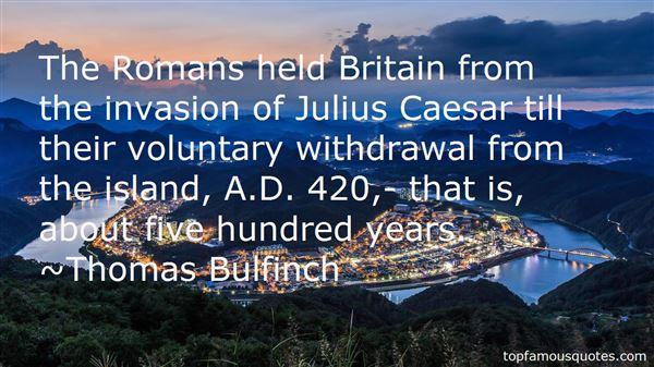 Thomas Bulfinch Quotes