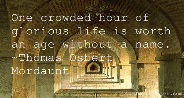 Thomas Osbert Mordaunt Quotes