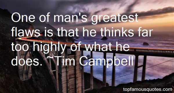Tim Campbell Quotes