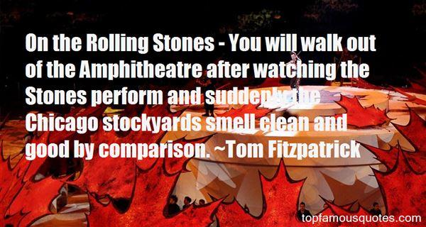 Tom Fitzpatrick Quotes