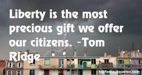 Tom Ridge Quotes