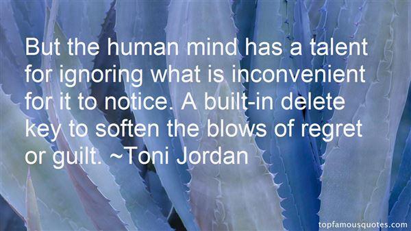 Toni Jordan Quotes