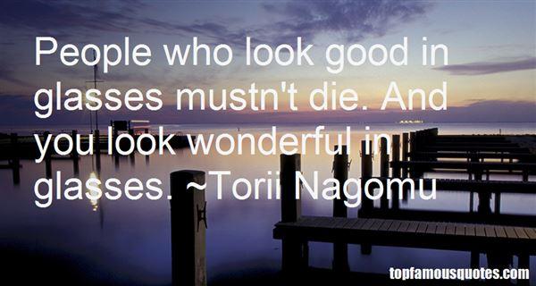 Torii Nagomu Quotes