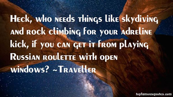 Traveller Quotes