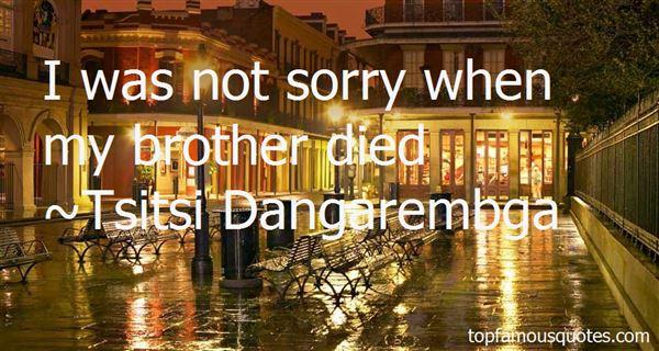 Tsitsi Dangarembga Quotes