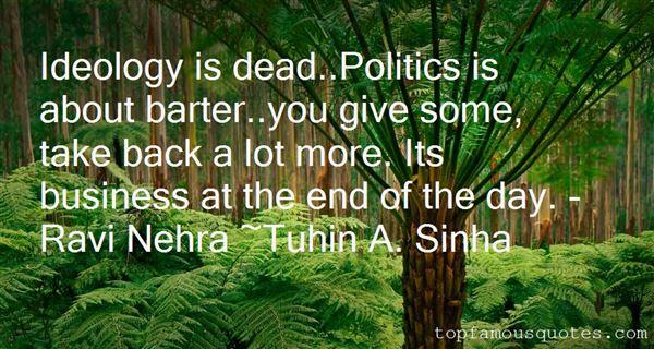 Tuhin A. Sinha Quotes