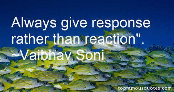 Vaibhav Soni Quotes