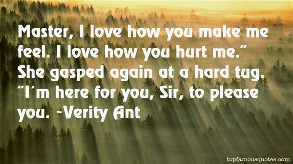 Verity Ant Quotes
