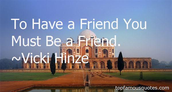 Vicki Hinze Quotes