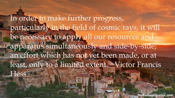 Victor Francis Hess Quotes