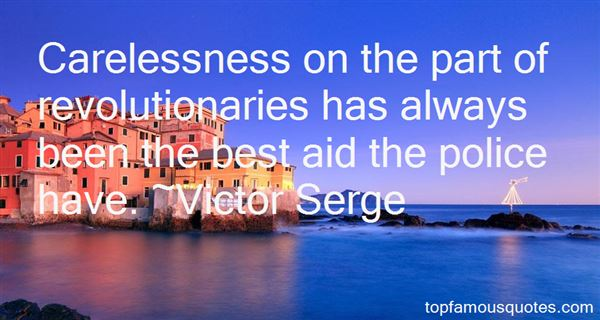 Victor Serge Quotes