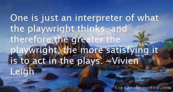 Vivien Leigh Quotes