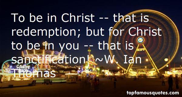 W. Ian Thomas Quotes