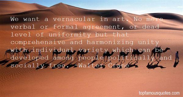Walter Crane Quotes