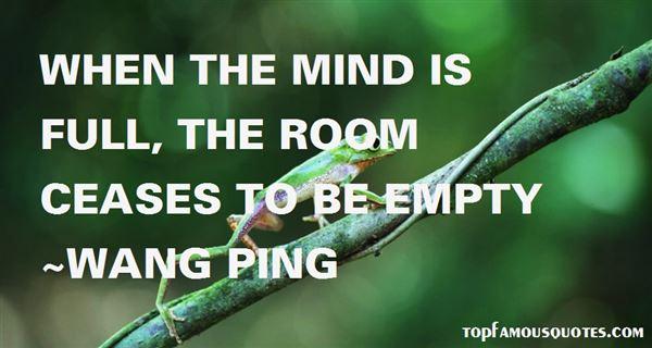 Wang Ping Quotes