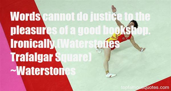 Waterstones Quotes