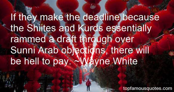Wayne White Quotes
