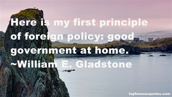 William E. Gladstone Quotes