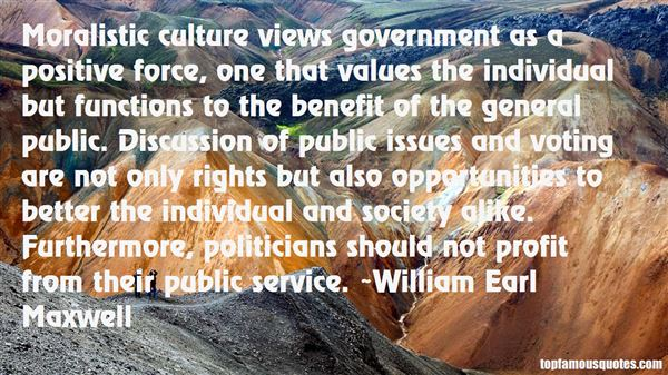 William Earl Maxwell Quotes