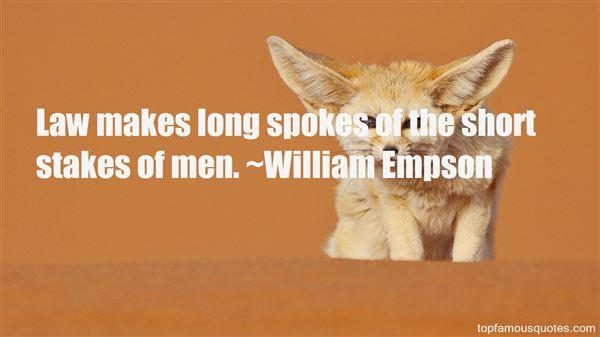 William Empson Quotes