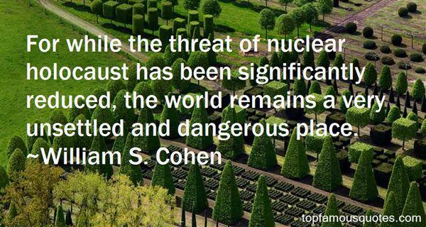 William S. Cohen Quotes