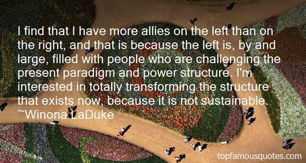 Winona LaDuke Quotes